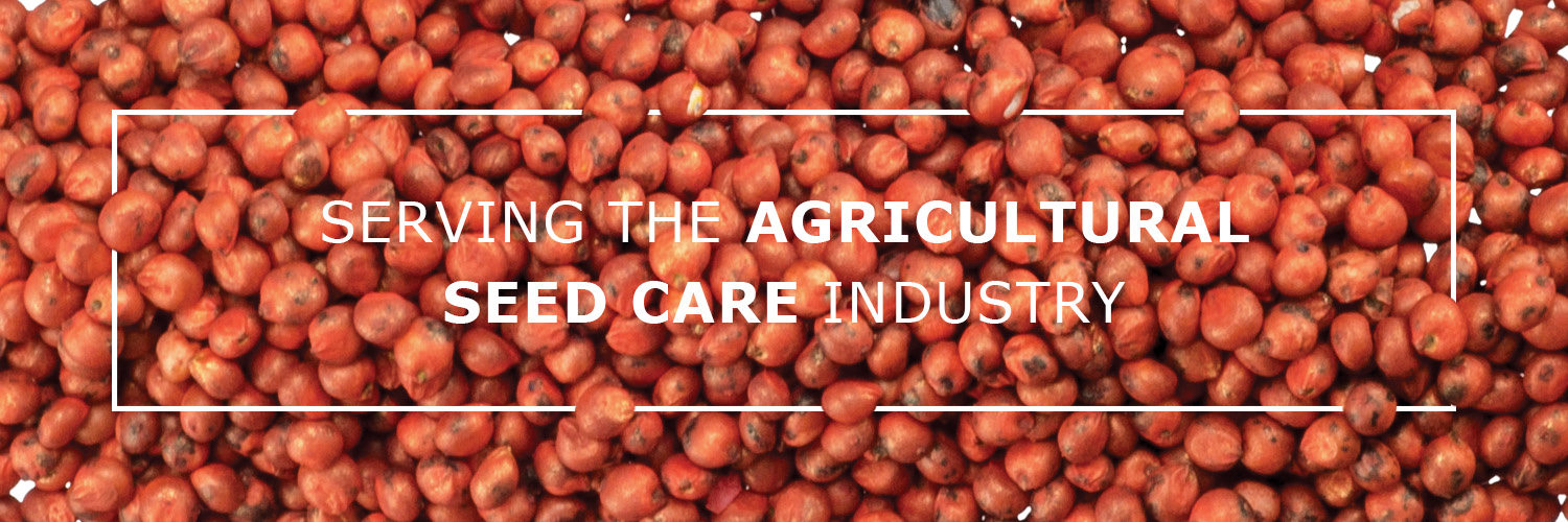 Serving the agricultural  seed care industry
